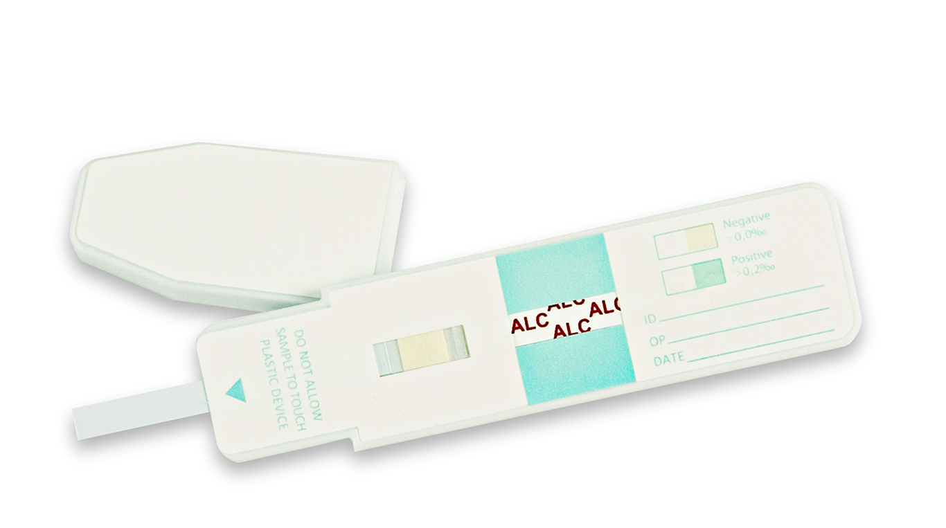 test alcol nella saliva Silmarc Pharma