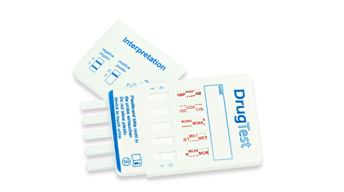 test rapido droghe Silmarc Pharma